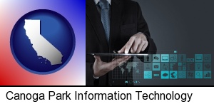 Canoga Park, California - information technology concepts