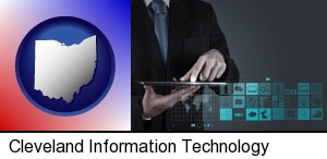 Cleveland, Ohio - information technology concepts