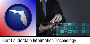 Fort Lauderdale, Florida - information technology concepts