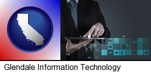 Glendale, California - information technology concepts