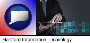 Hartford, Connecticut - information technology concepts
