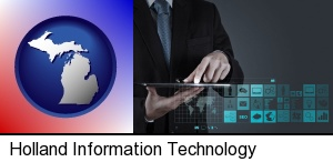 Holland, Michigan - information technology concepts