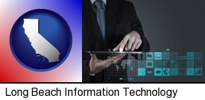 Long Beach, California - information technology concepts
