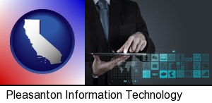 Pleasanton, California - information technology concepts
