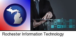 Rochester, Michigan - information technology concepts