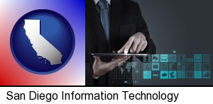 San Diego, California - information technology concepts
