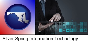 Silver Spring, Maryland - information technology concepts