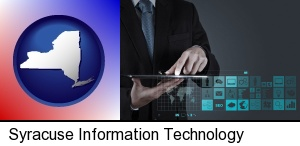 Syracuse, New York - information technology concepts