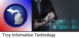 Troy, Michigan - information technology concepts